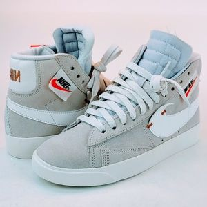 NEW Nike Blazer Mid Rebel Off White/Platinum Shoes